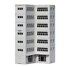 1:87 HO Scale Sand Table Decoration DIY Assembly Model Office Building for Railway Landscape Sand Table Layout(China)