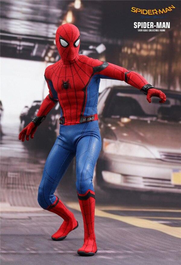 Avengers de Marvel HC homme araignée super-héros jouets chauds Spiderman 30cm BJD articulations mobiles figurines d'action jouet