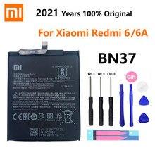 100% оригинал Xiao mi батарея BN37 3000 мАч для Xiaomi Redmi 6 Redmi6 Redmi 6A Высокое качество Замена батареи для телефона