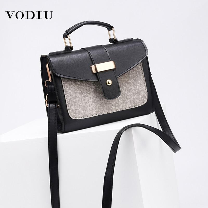 Bag Womens Luxury Handbags Shoulder PU Leather Square Crossbody Bags For Women 2019 Famous Brand Ladies Messenger Women's Bags