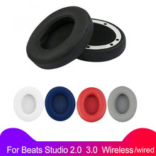 VirWir Replacement Ear Pads Soft Sponge Cushion for Beats Studio 2.0 Wireless wired Headphone Accessories Earpads for studio 2 3