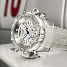 Casual Sport Watches for Men Gray Top Brand