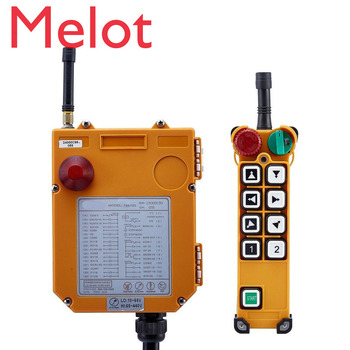 цена на TELECRANE Wireless Double Speed Industrial Remote Controller Electric Hoist Remote Control 1 Transmitter + 1 Receiver F24-8D