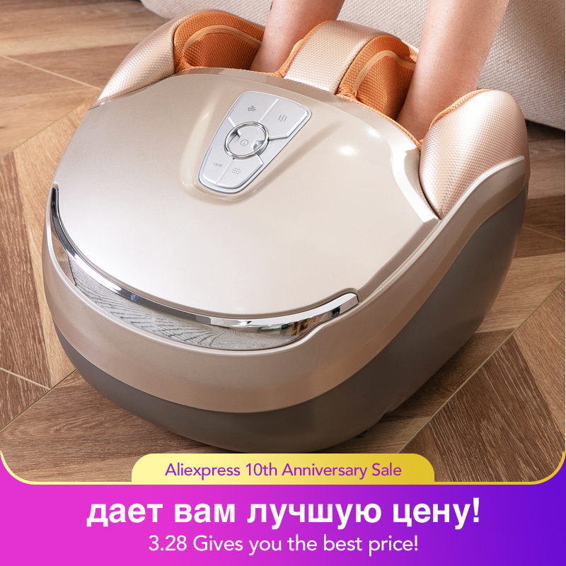 MARESE Электрический массажер для ног Вибрационный шиацу массажная машина нагревающая терапия Сжатие воздуха забота о здоровье