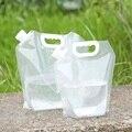 Складная сумка для воды объемом 3 л/5 л, портативная вместительная сумка для воды и бензина, для кемпинга, путешествий, длительного вождения, ...