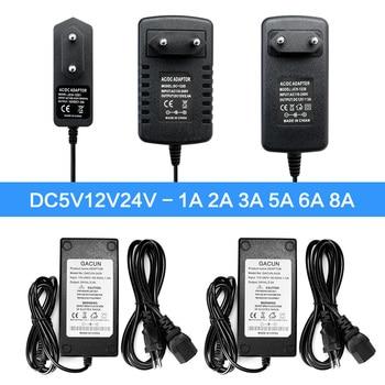 ac dc 5v 12v 24v alimentation power supply transformers ac dc 220v to 5 12 24 v volt power supply 5v 12v 24v alimentation smps AC DC 5V 24V 12V Power Adapter Supply 1A 2A 3A 5A 6A 8A 10A 5V 12V 24V Power Adapter 220V TO 12 5 24 V Volt Led Strip Lamp Light