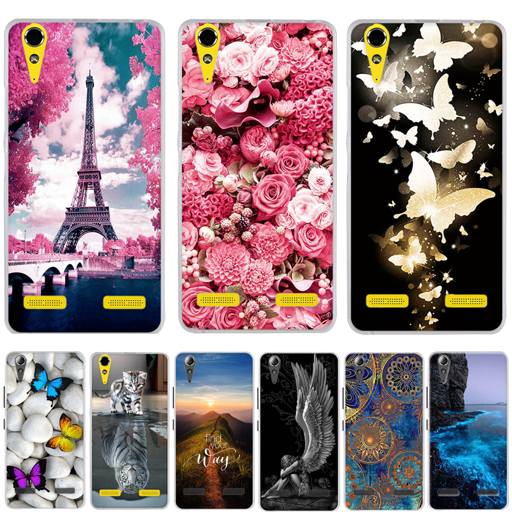 Soft TPU Phone Case for Lenovo A6010 Plus & A6000 & for Lenovo Lemon K3 K30-T Cover Skin 5
