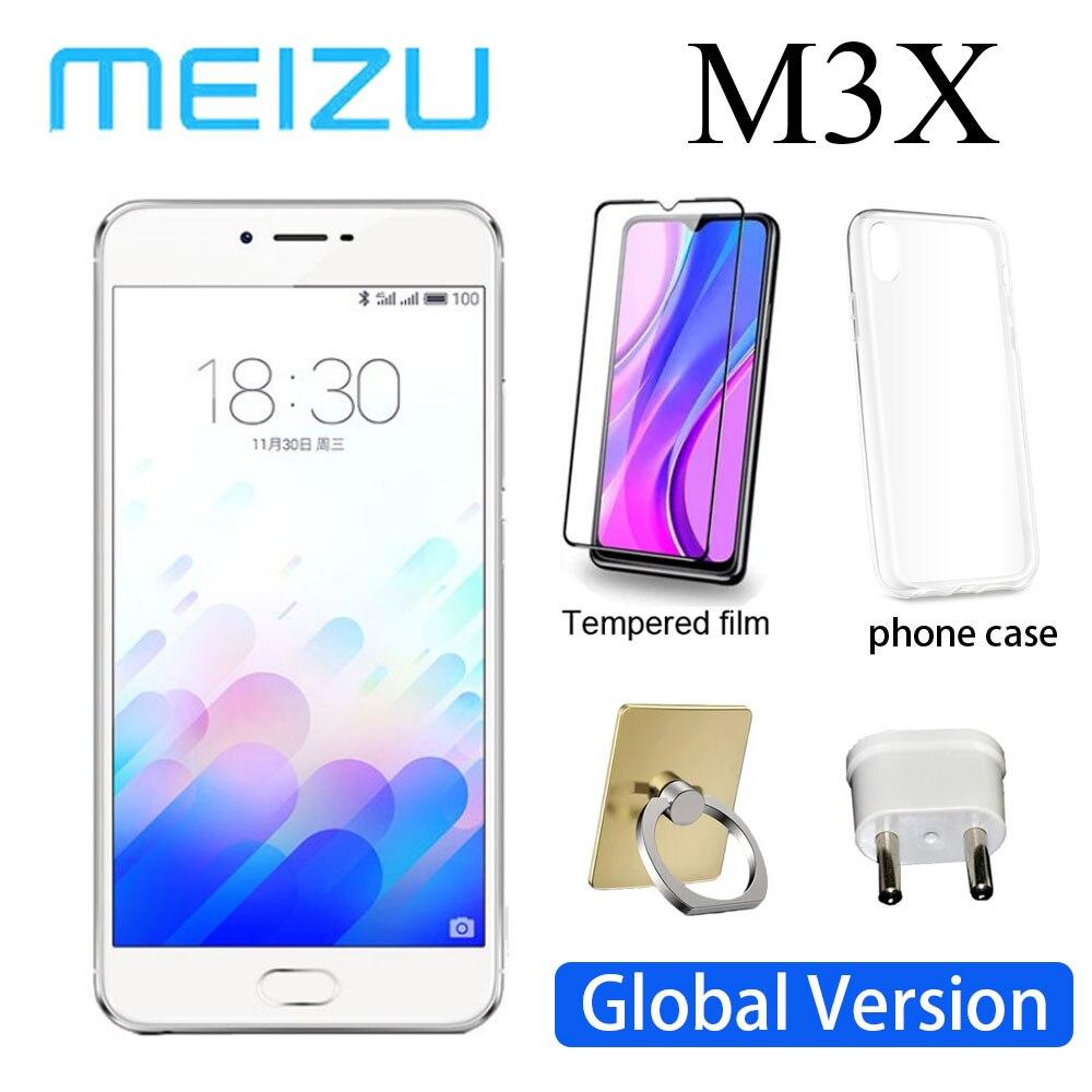 Смартфон 98% Новый Meizu M3X 3G 32G телефон 3200 мА/ч, Батарея MediaTek Helio P20 сотовый смартфонов глобальная версия