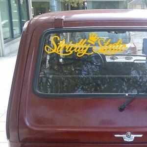 Image 5 - Pegatina de vinilo de troquelado para coche, pegatina de vinilo estático, decoración para automóvil, impermeable, parachoques, ventana trasera, CS31105 #