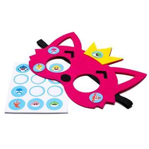Image 2 - 12 шт., Детские фетровые маски «маленькая Акула»