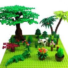 على الوجهين 32*32 نقطة اللوح Bricks الصغيرة Tree بها بنفسك شجرة بوش DIY بها بنفسك اللبنات قاعدة لوحة متوافقة الكلاسيكية كتل المجلس