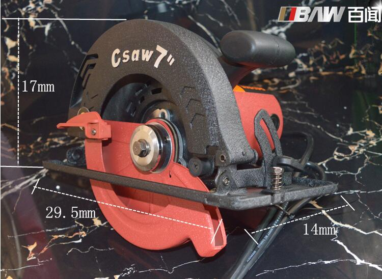 Electric Circular Saw 7-inch Electric Saws Wood Cutting Machine, Wood Saws Portable Electric Saws