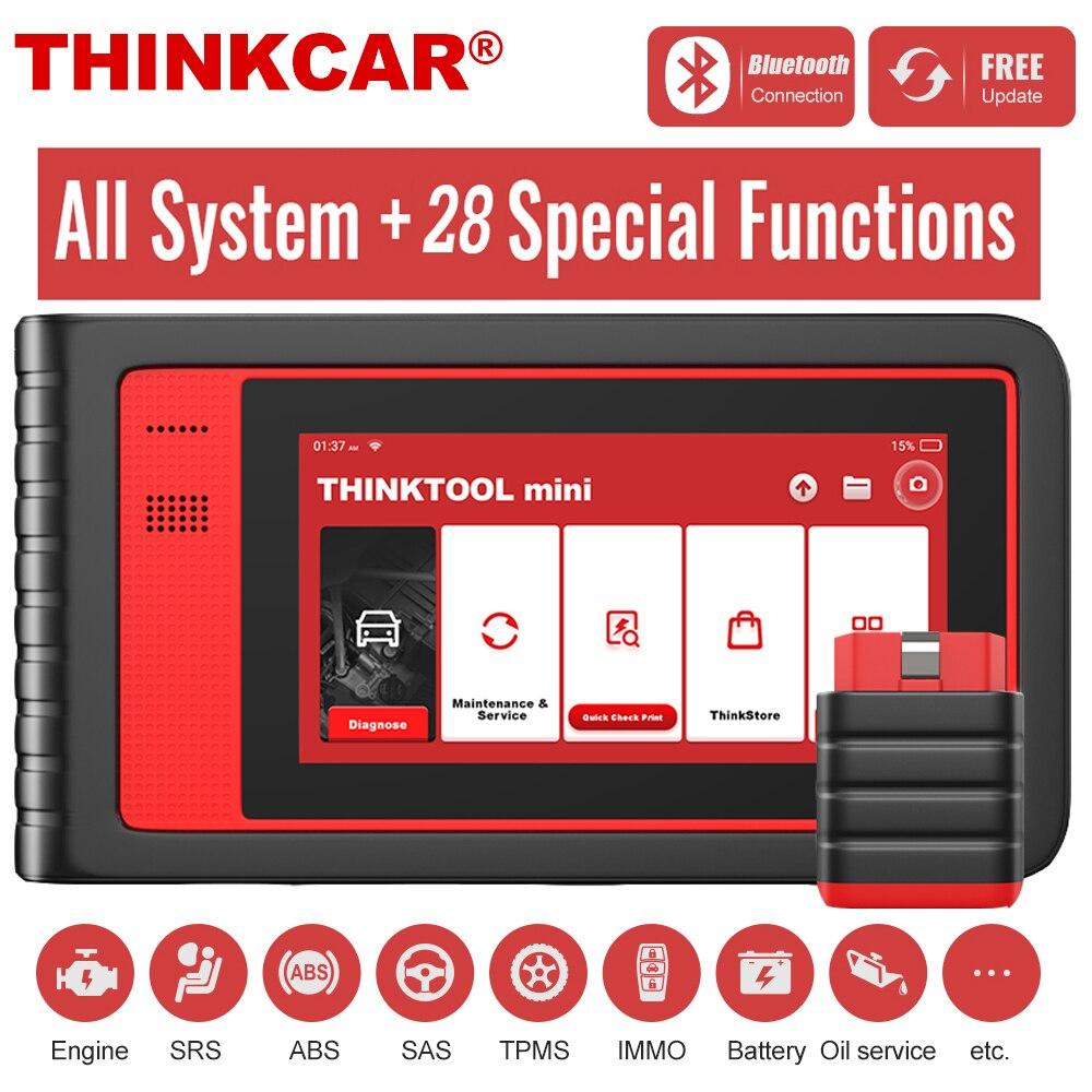 Thinkcar Thinktool mini OBD2 сканер, профессиональный полный диагностический сканер системы, Автомобильный сканер, кодирование ЭБУ, активное тестирование|Считыватели кодов и сканеры|   | АлиЭкспресс
