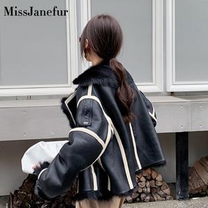 Image 3 - Kadın gerçek koyun derisi DERİ CEKETLER en kaliteli hakiki deri ceket moda ceket bayan yeni varış