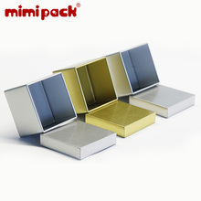 mimipack Square/Rectangle Right-Angle Tinplate Biscuit Storage Boxes 24-piece Ti