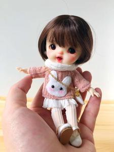Image 5 - NEW Sugar dolls Ob11 dolls 1/8 customization BJD dolls DIY makeup doll and head OB doll