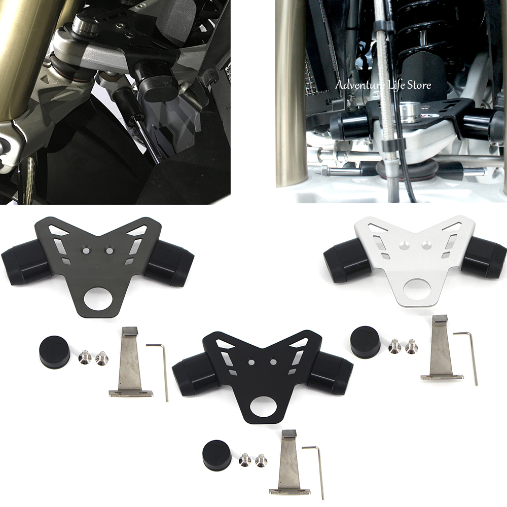 Motorcycle Steering stop directional positioner For <font><b>BMW</b></font> <font><b>R1200GS</b></font> LC R1200 R 1200 GS ADV <font><b>Adventure</b></font> <font><b>2013</b></font> 2014 2015 2016 2017 <font><b>2018</b></font> image