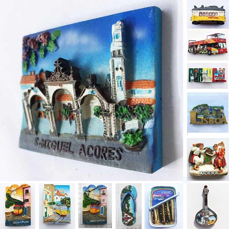 Португальский сувенир, Лиссабон, города мадеры, магниты на холодильник, полимерные магнитные наклейки на холодильник, туристические сувени...