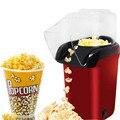 Мини Бытовая электрическая машина для попкорна автоматическая машина для попкорна красного цвета натуральное попкорн для домашнего испол...