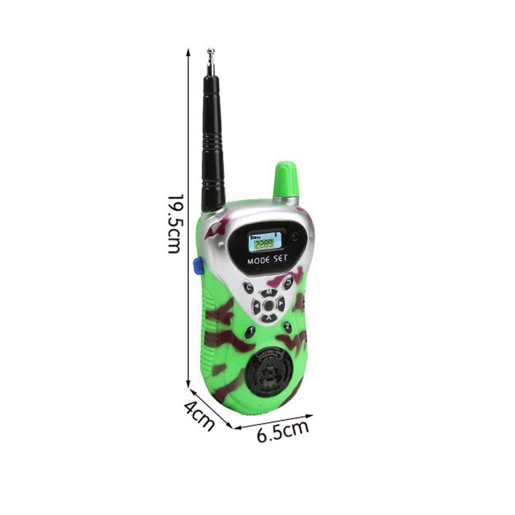 2 шт новые walkie talkie детские игрушки электронные гаджеты