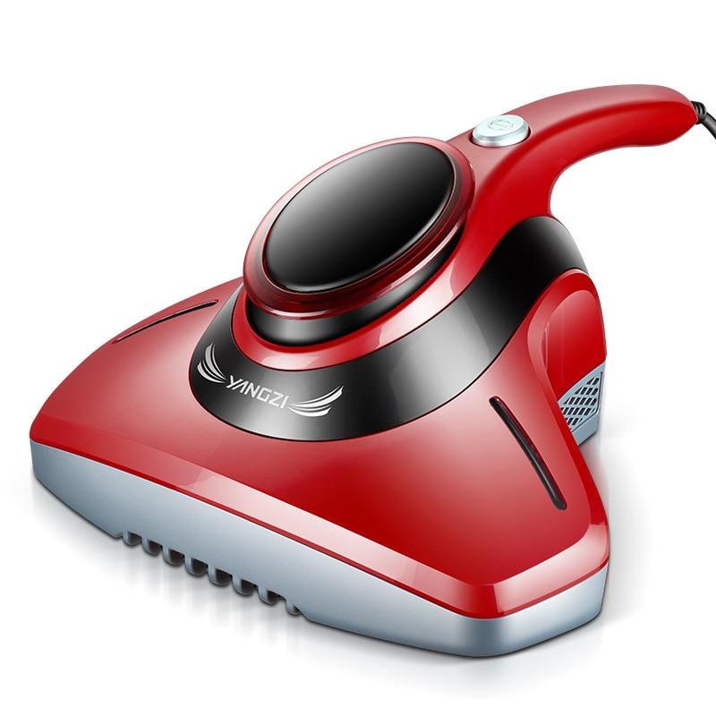 Handheld Vacuum Cleaner Bed Mite Collector Mini Dust Sweeper UV Sterilizer Mattress Acarus Killing Catcher Aspirator EU US