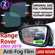 For Land Rover Range 2003~2019 Full Cover Anti Fog Film Rearview Mirror Car Accessories L322 L405 2005 2010 2014 2015 2017