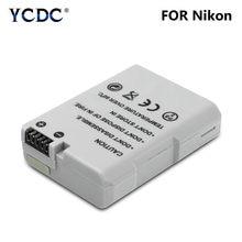 Batterie Li-ion Rechargeable pour Nikon, pour modèles D3100, D3300, D5100, D5500, 53x38x14mm, 2020 V, EN-EL14A mAh, Promotion, nouveau, 7.2