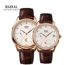 HAZEAL Couple Watch For Lover Original Design женские часы Men Quartz
