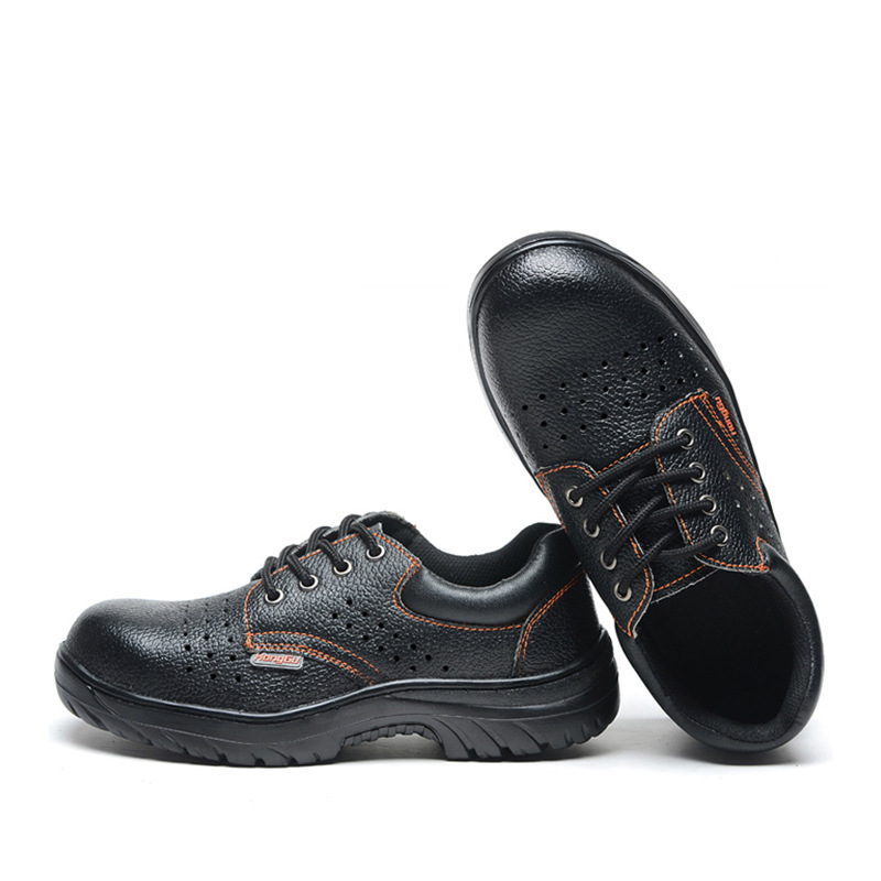 Breathable And Comfortable Safety Shoes Light Wear Non-Slip Light Work Shoes Fashion Smashing Anti Puncture Safe Protective Shoe
