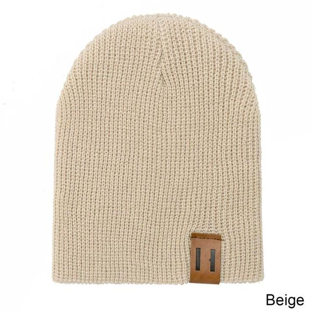 New Arrival Soft Warm Children Casual Warm Cap 5
