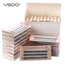 YSDO-extensiones de pestañas individuales, 10/20/30/40/50 cajas, maquillaje rizado C, postizas gruesas