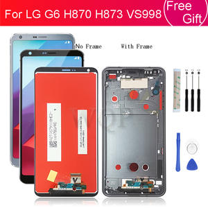 For LG G6 lcd display touch screen Digitizer Assembly screen Replacement for LG H870 H873 VS998 Pantalla with frame Repair Parts