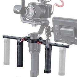 For DJI Ronin-S / SC Stabilizer Dual Handle DH-13 Aluminum Alloy Stabilizer Accessories For Outdoor Shooting Operations