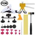 PDR инструменты, безболезненные Инструменты для ремонта вмятин, набор для ремонта вмятин, автомобильный вмятин, съемник с клеем, вкладки, ком...
