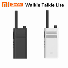 Xiaomi Walkie Talkie inteligente Mijia Lite, Original, 40mm, altavoz de gran diámetro, 5 días de duración en espera, Control de aplicaciones de teléfonos inteligentes para exteriores