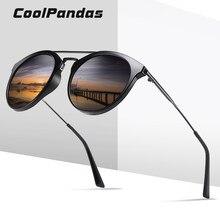Lunettes De soleil polarisées Vintage pour femmes et hommes, monture ronde, pour conduire, classiques, été, UV400, nouvelle collection 2020