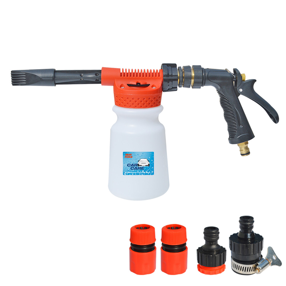 Tap Water Foam Gun Carwash Car Cleaning Foam Cannon Soap Gun Snow Foam Lance Low Pressure Foam Generator Water Hose Foam Gun
