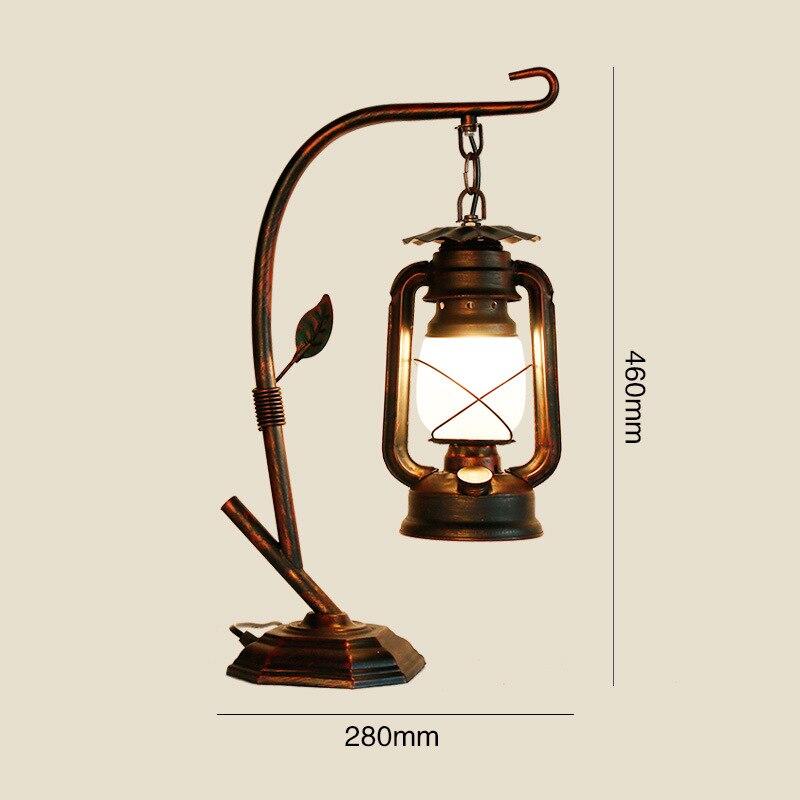lampada de mesa retro lampada cavalo lampada 04