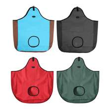 Feeder-Pouch Riding-Hay Horse Slow-Feed Hay-Bag Portable with Cut-Out-Hole Reduce-Farm-Supplies