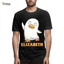 Sadaharu Elizabeth gintama T shirt Shirt Cartoon Design For Men New Arrival Unique Homme Tee Man