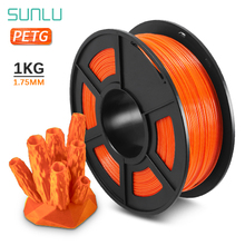 SUNLU PETG Filament 3D Printer Filament 1 75mm 1KG 2 2LBS with Spool roll solid 3d