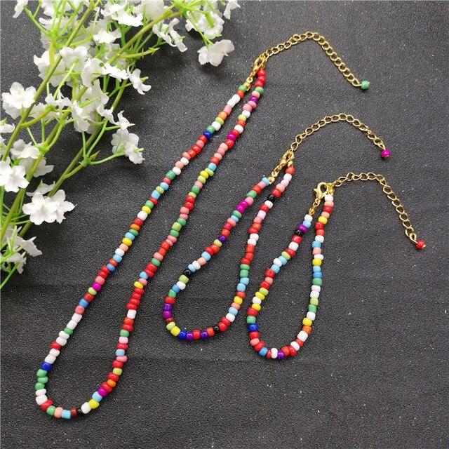 JCYMONG Bohemian 4mm Beads...