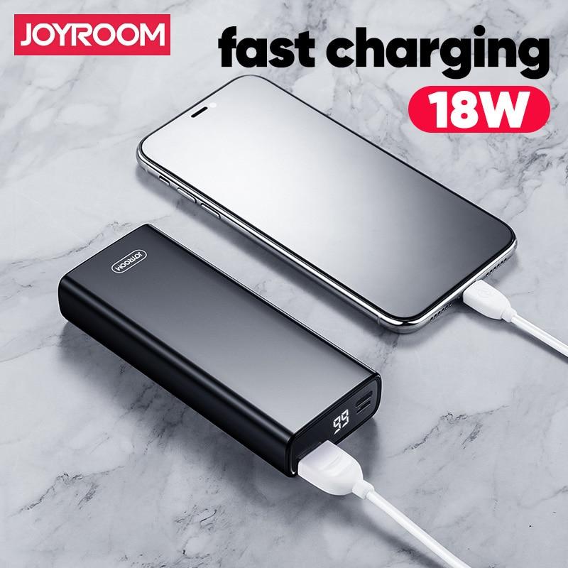 Joyroom 18 Вт внешний аккумулятор PD QC 3,0 Quick Charge power Bank 10000 мАч портативный внешний аккумулятор внешнее портативное зарядное устройство|Внешние аккумуляторы|   | АлиЭкспресс