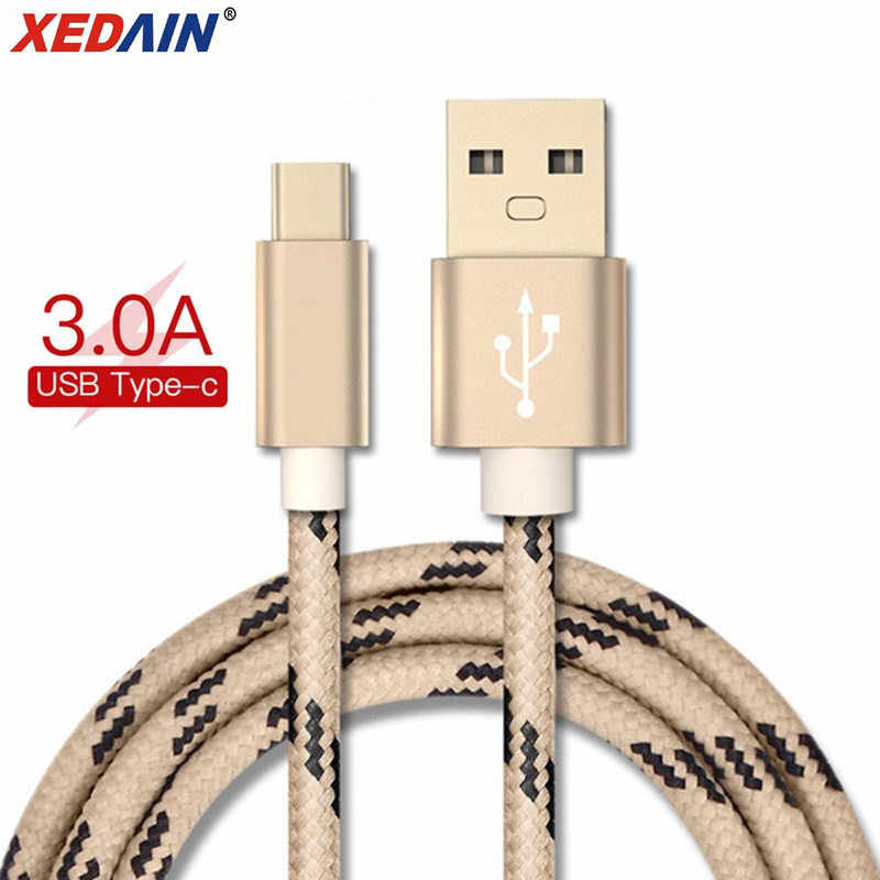 Original 1M 2M Fashion Camouflage USB Type C Phone Cable Data Charger transmission & Charge Type-C USB for Xiaomi 4C/One Plus 2