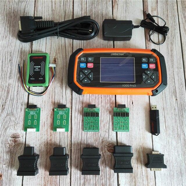 Obdstar x300 pro3 chave mestre configuração padrão imobilizador odômetro ajuste eeprom para toyota g & h chip todas as chaves perdidas