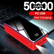 High Capacity 50000mAh Power Bank Portable Charger External Battery
