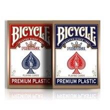 Bicycle Prestige Playing Cards Small Size Poker Red/Blue Premium Plastic Dura Flex Deck Magic Cards Magic Tricks Magic Props