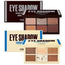 Novo chocolate sombra pallete nude olho sombra glitter sombra morno marrom alta pigmentos maquiagem pallete idéia presente de natal