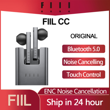 fiil t1x tws true wireless earbuds in ear bluetooth earbuds Original Xiaomi FIIL CC TWS Bluetooth 5.0 Earbuds True Wireless  In-Ear Touch Control ENC Noice Cancelling Earphone with Mic