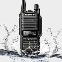 Baofeng UV XR 10W Walkie Talkie 10KM CBชุดวิทยุแบบพกพาวิทยุแบบยาวสองทางUv 9r uv9r Plus